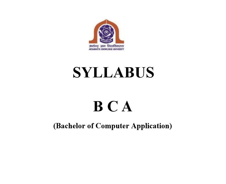 AKU_BCA_Sylabus