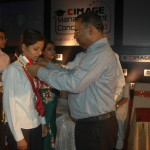 Meritorious Student being awarded with Medal by Prof. B.B. Chakrawarti - IIM Kolkata (1)